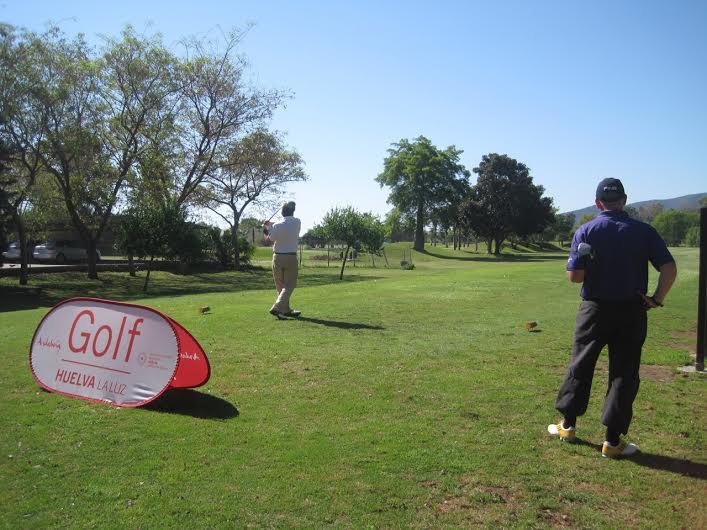 La primera prueba del 'Pasaporte Golf Huelva la Luz' congrega a más de 100 jugadores